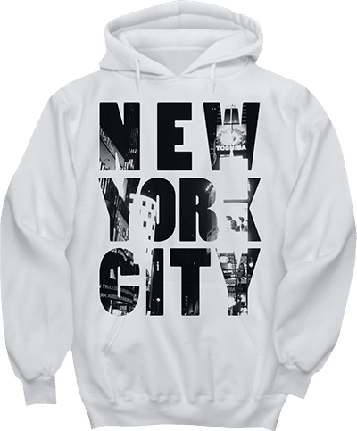 Hoodie New York City Time Square
