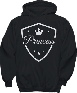 Princess Crown Star Hoodie