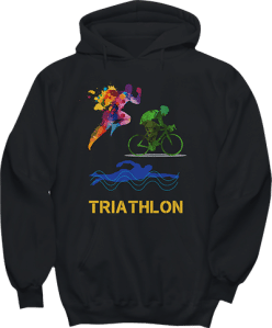 Triathlon Race Sports Hoodie