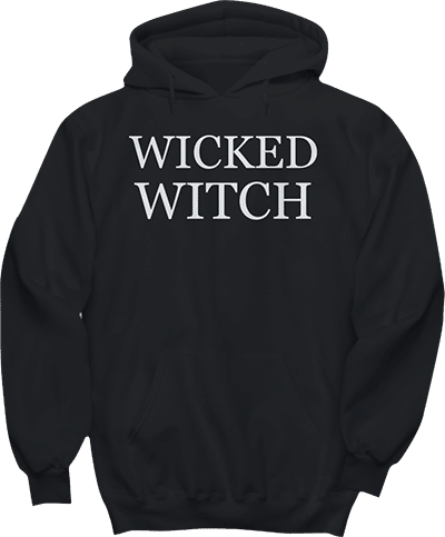Wicked Witch Halloween Hoodie
