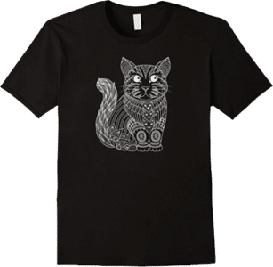 Cute White Cat Perfect for Cat Lovers T shirt