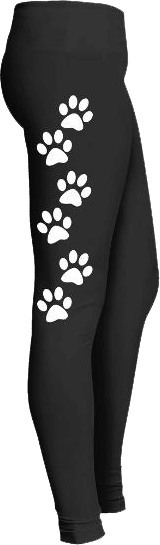 Cat Paw Leggings