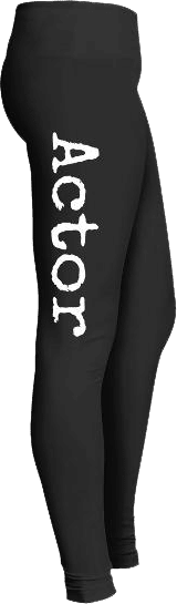 Theater Actor Leggings