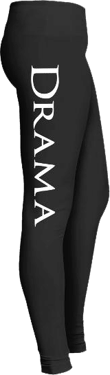 Drama theater theatre leggings