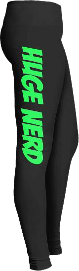 Huge Nerd Leggings Yoga Pants