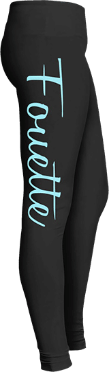 Fouette ballet dancer leggings