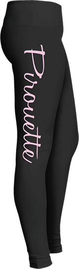 Dance leggings pirouette
