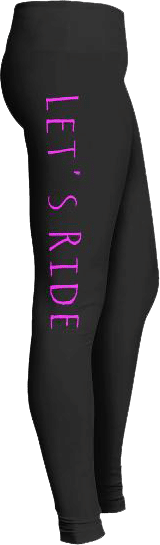 Let's Ride Biker Leggings