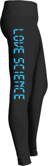 Love Science Technology Leggings Yoga Pants