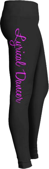 Lyrical Dancer Dance Leggings