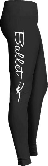 Ballet Dancer en Pointe Dance Leggings