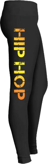 Sun Glow Hip Hop Dance Leggings