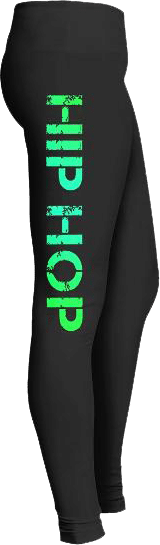 Hip Hop Dance Leggings Music Lovers