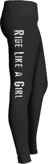 Ride Like a Girl Biker Leggings