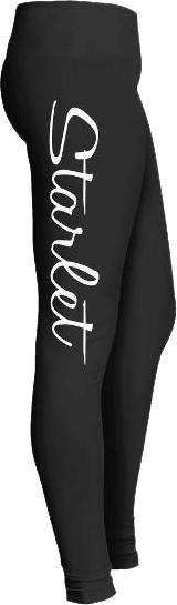 Starlet Performer Dance Actress Leggings