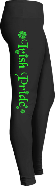 Irish Pride Clover Saint Patrick's Leggings