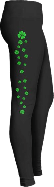 Clovers St Patrick's Day Irish Leggings