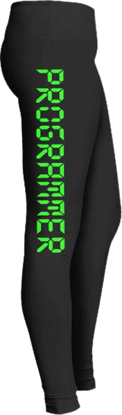 Computer programmer leggings STEM