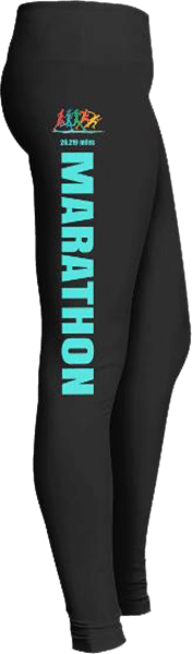 Marathon runner leggings