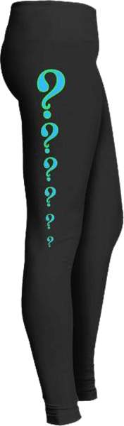 Question mark leggings