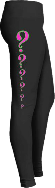 Pink Question Marks Leggings