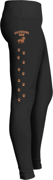 Dog Lovers Leggings Dachshund Mom Dog Leggings