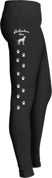 Dalmatian Mom Dog Leggings for Dog lovers
