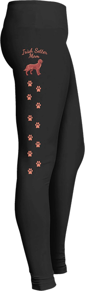 Irish Setter Mom Dog Prints Leggings for Dog Lovers