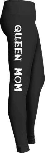 Queen mom mother's day leggings