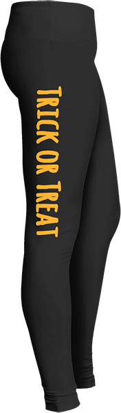 Trick or treat Halloween leggings