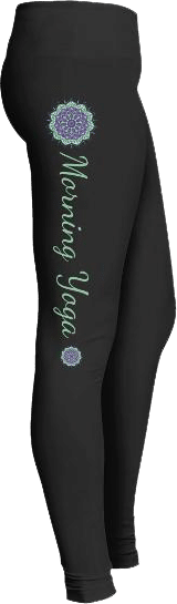 Morning Yoga Mandala Leggings