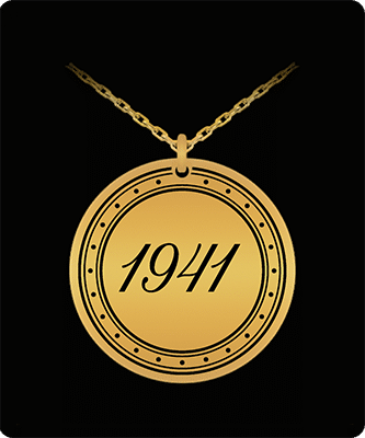 GreatGifts for someone born in 1941 Pendant Necklace