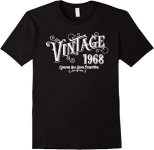 1968 Genuine Old Skool Perfection Tee Shirt