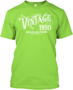 1959 Year you were born Vintage Old Skool Perfection T shirt