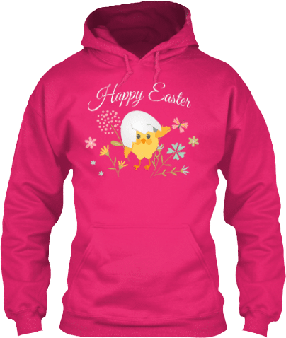 Easter Chick Hoodie #easterbunny #easter #bunny #easterbunnies #spring #eggs #goodfriday #eastersunday #eastereggs #outfit #easteroutfit