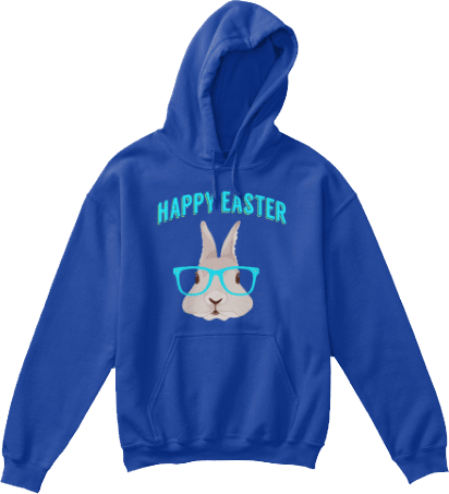 Kids Easter Bunny Hoodie #easterbunny #easter #bunny #easterbunnies #spring #eggs #goodfriday #eastersunday #eastereggs #outfit #easteroutfit