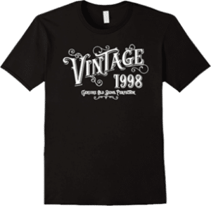 1998 Vintage Genuine Old Skool Perfection t shirt