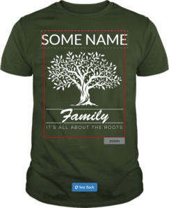 Custom Family Reunion T shirt Family Tree It's all about the roots