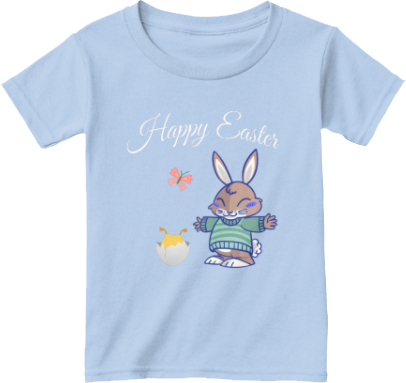 Toddler Easter bunny chick Butterfly T shirt