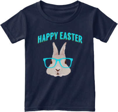 Toddler T shirt Easter Bunny Hipster