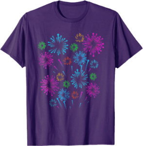 Fourth of July Fireworks T shirt