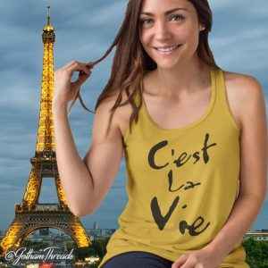French Language Tops Fashion Tees France Paris 2