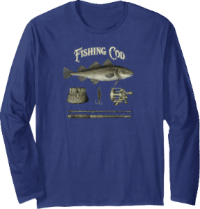 Fishing Cod Tackle Rod Basket Reel Cod Gish Long Sleeves