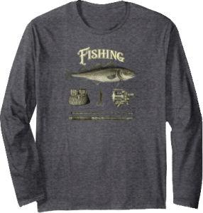 Fishing Tackle Longsleeve Shirt