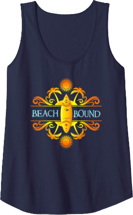 Tank top Beach Surfing Yellow Blue Men and Women Styles