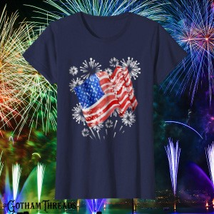 Patriotic American Flag Shirts for Independence Day