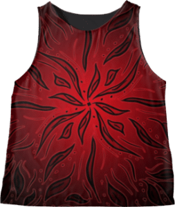 Red Sleeveless Tank Top