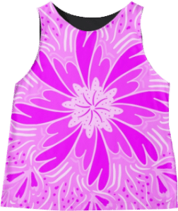 Everything Pink Flower Sleeveless Top