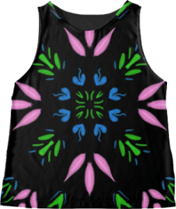 Bohemian Flower Sleeveless Top