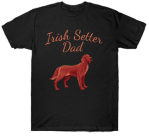 Irish Setter Dad Dog Tee